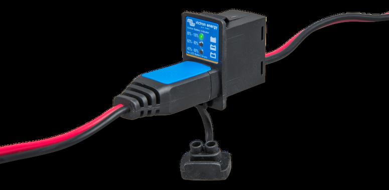 BPC900110114 Panel indikátoru stavu baterie, M8 30A pojistka - obr 2