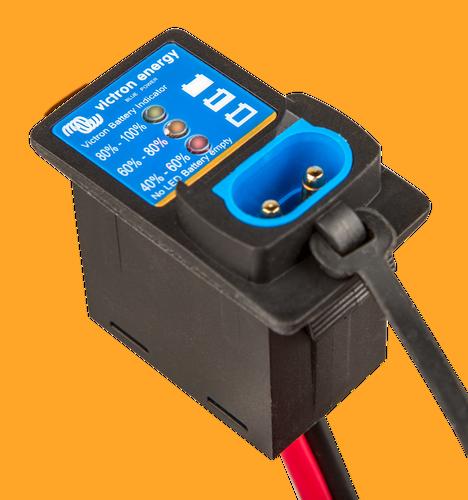 BPC900110114 Panel indikátoru stavu baterie, M8 30A pojistka obr 3
