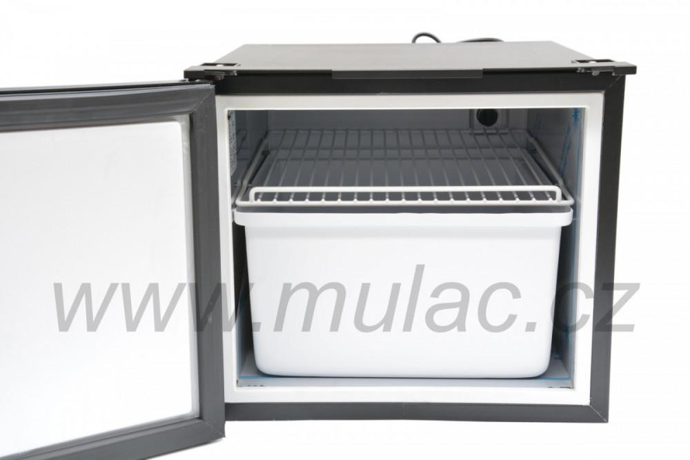 C47 VITRIFRIGO kompresorová autochladnička 12/24V uspořádání uvnitř