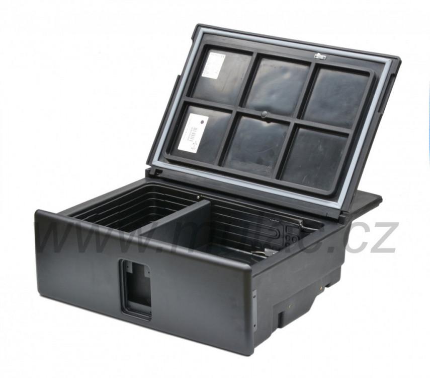 V26 VITRIFRIGO kompresorová autochladnička 12/24V otevřená 2