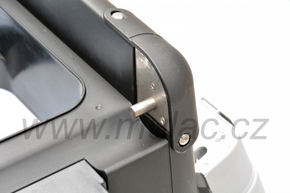 VF65P autochladnička VITRIFRIGO detail pantu