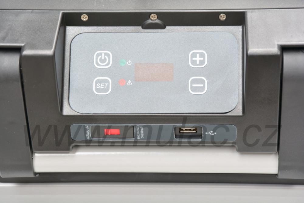VF65P autochladnička VITRIFRIGO ovládání