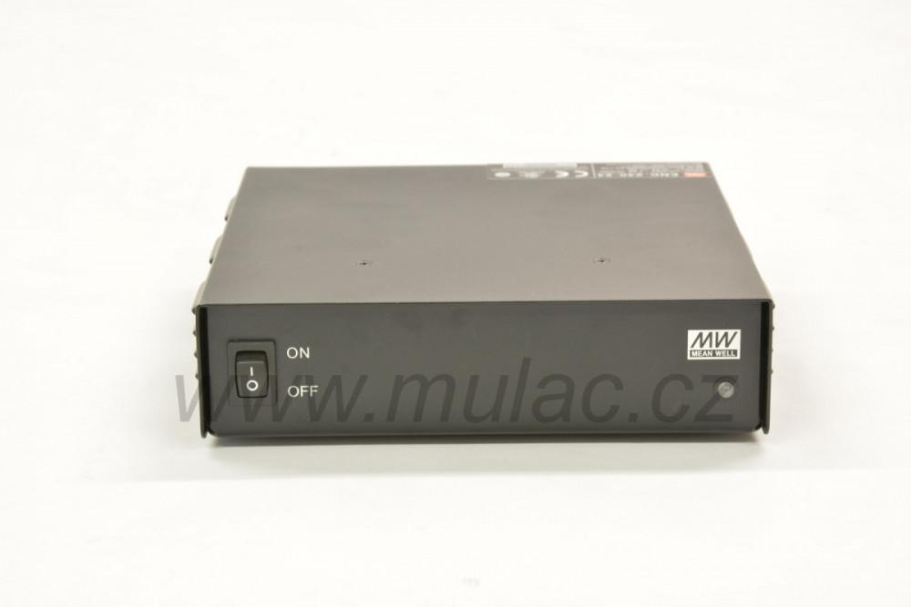 ENC-240-24 zdroj pro udržování 24 V baterií v nabitém stavu (27,2 V, 8 A) č.5