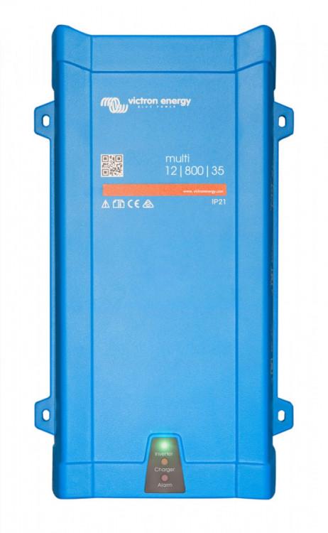 PMP121800000 MultiPlus 12/800/35-16, měnič napětí / nabíječ / UPS 12V 800VA 35A