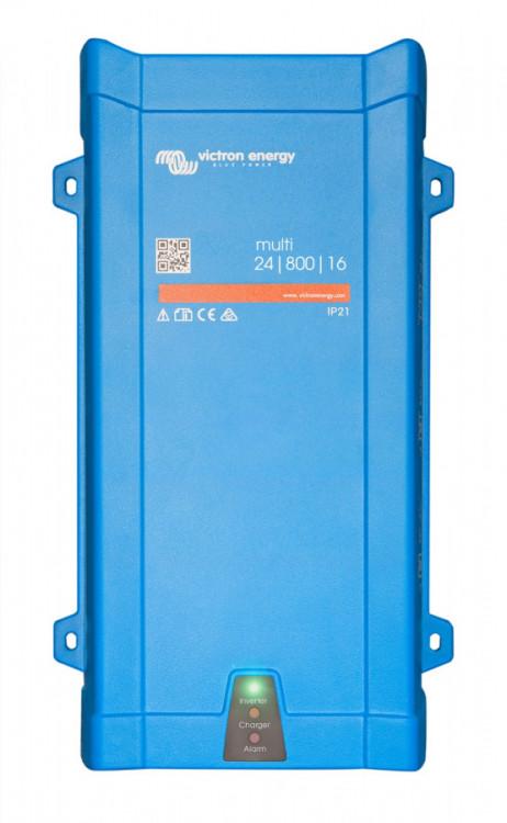 PMP241800000 MultiPlus 24/800/16-16, měnič napětí / nabíječ / UPS 24V 800VA 16A
