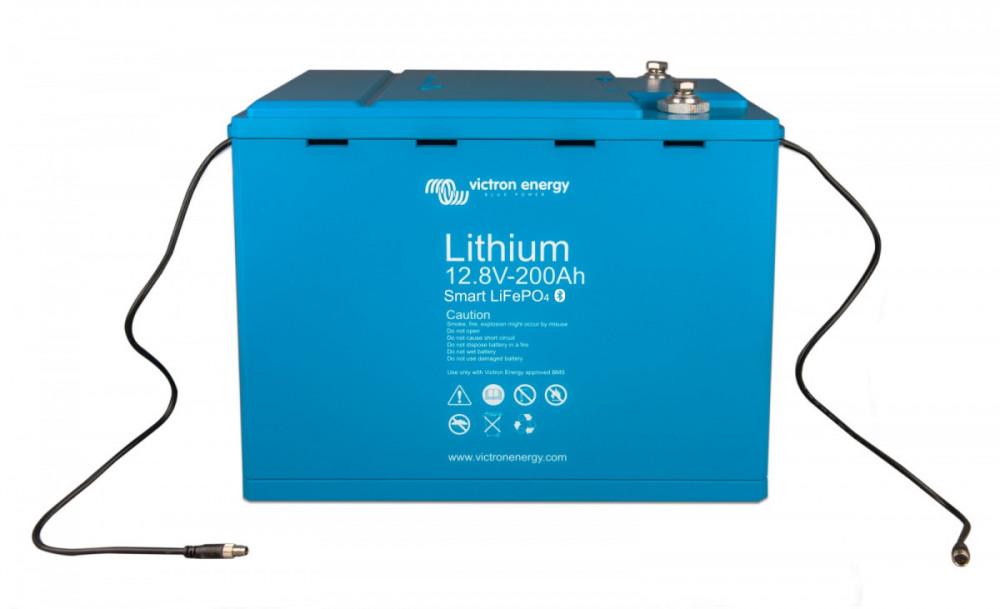 LiFePO4 12,8V 200Ah 2560Wh SMART BAT512120410