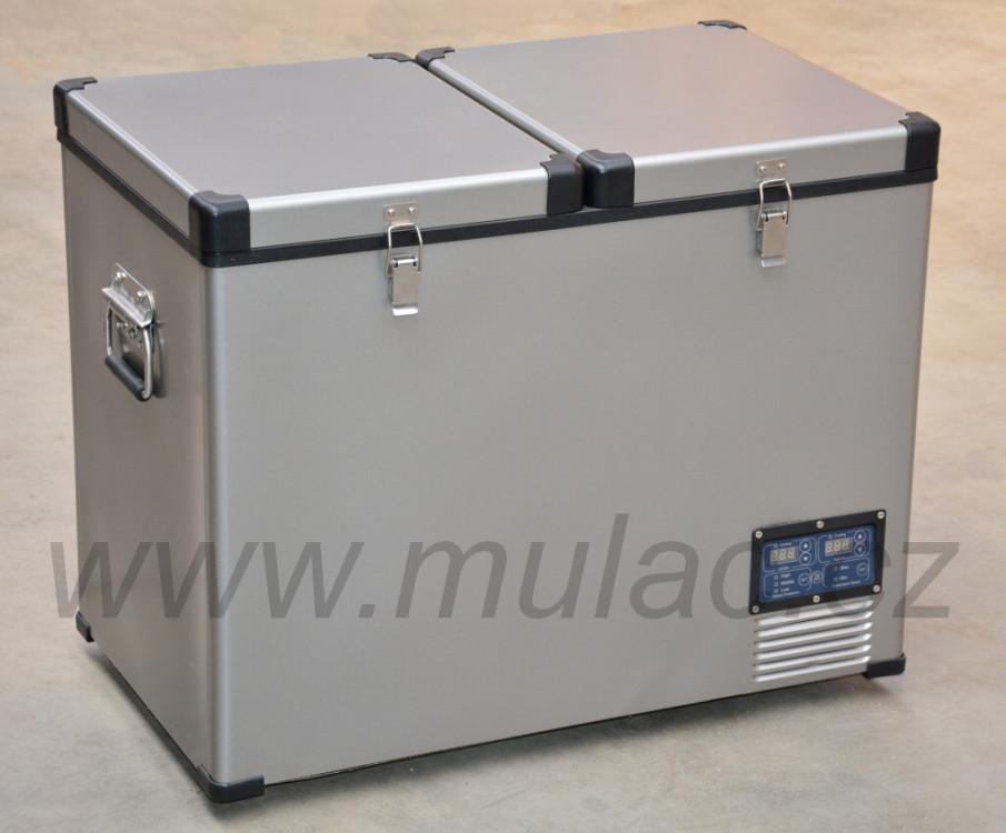 TB92DD Steel kompresorová autochladnička Indel B, 92L, 12/24/230V č.4