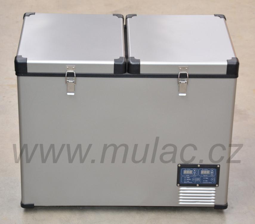 TB92DD Steel kompresorová autochladnička Indel B, 92L, 12/24/230V č.5
