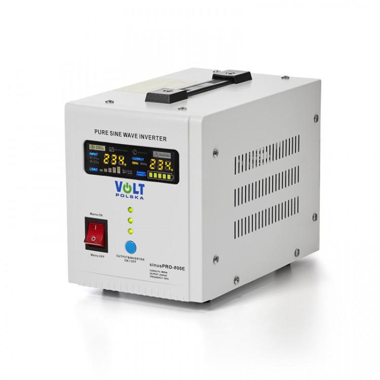 SinusPRO - 800E, záložní zdroj, 12V 500W 800VA