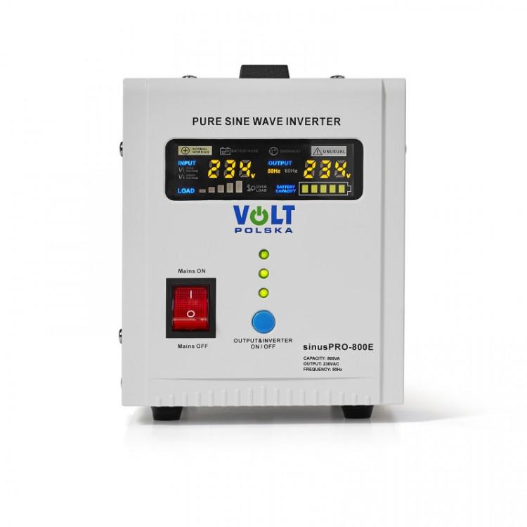 SinusPRO - 800E, záložní zdroj, 12V 500W 800VA obr2