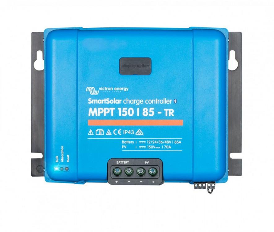 SmartSolar MPPT 150/85-Tr, regulátor 12/24/48V 85A 150V s Bluetooth