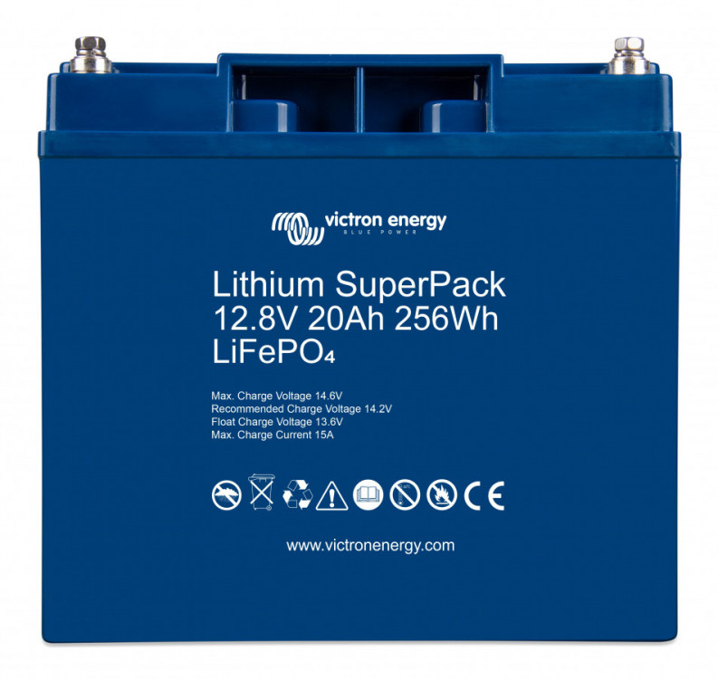 Victron Energy Lithium SuperPack 12,8V/20Ah (256Wh)
