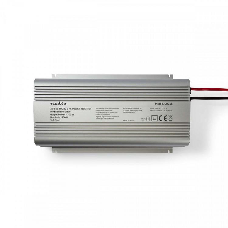 PIMS170024E Měnič napětí 24V na 230V 1700W Nedis č.4