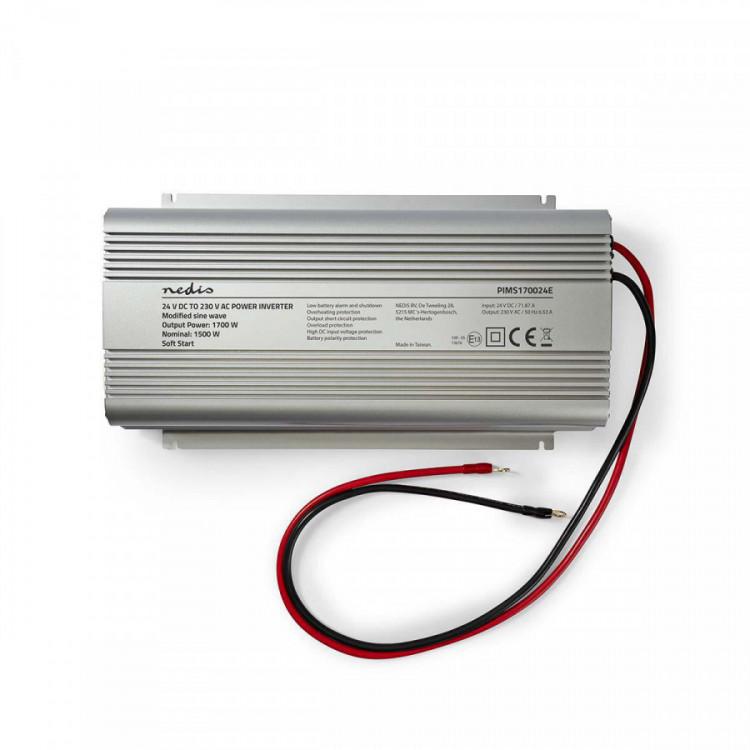 PIMS170024E Měnič napětí 24V na 230V 1700W Nedis č.6