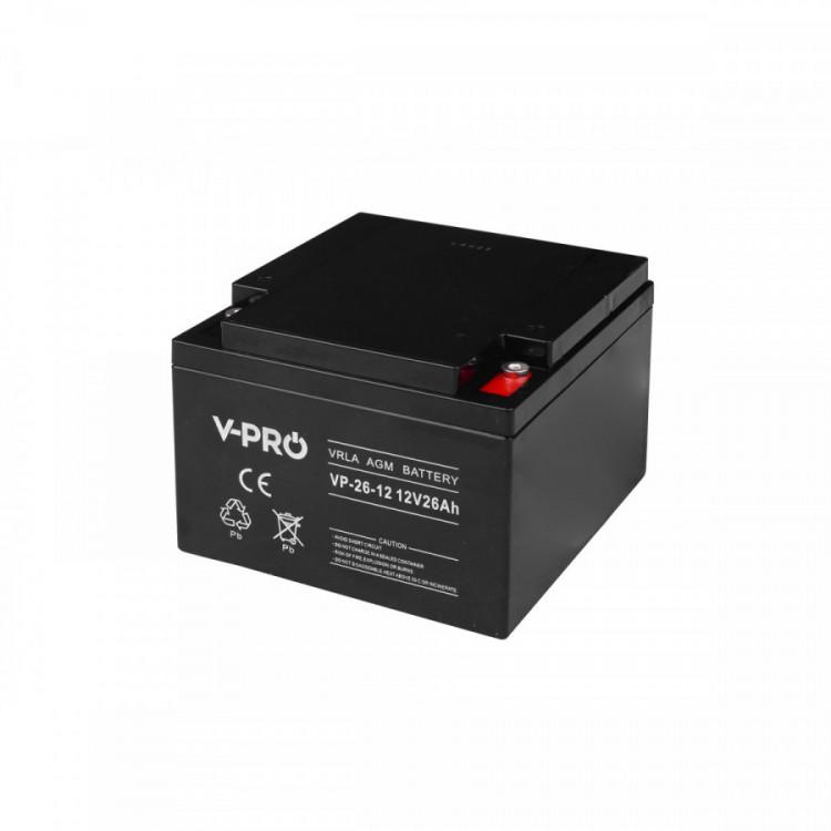 Baterie VP-26-12 V-PRO 12V 26Ah