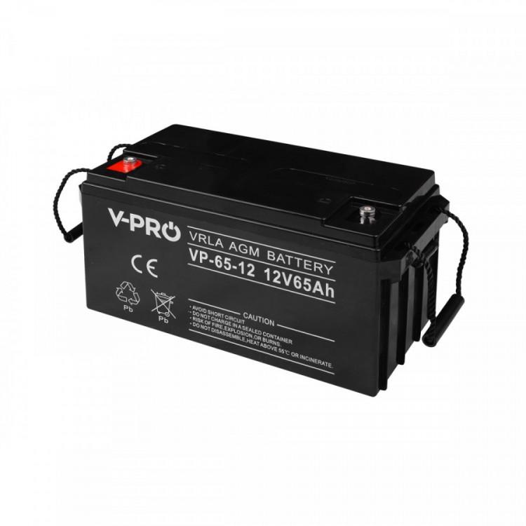 Baterie VP-65-12 V-PRO 12V 65Ah