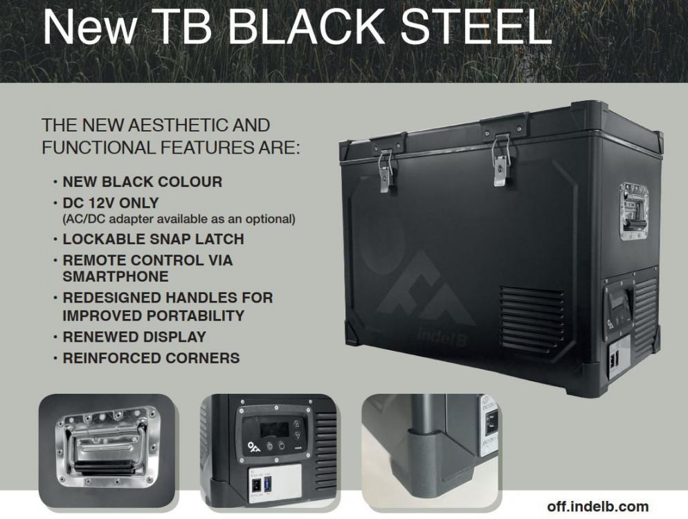 TB100 STEEL OFF Indel B kompresorová autochladnička, 100L, 12/24V č.9