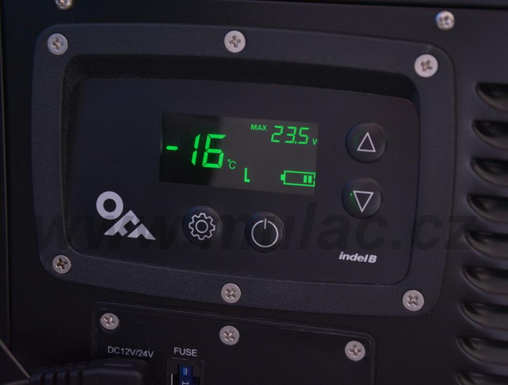 TB100 STEEL OFF Indel B kompresorová autochladnička, 100L, 12/24V č.10