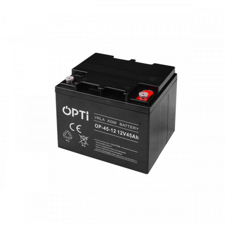 Baterie OPTI 12V 45Ah OP-45-12 č.1