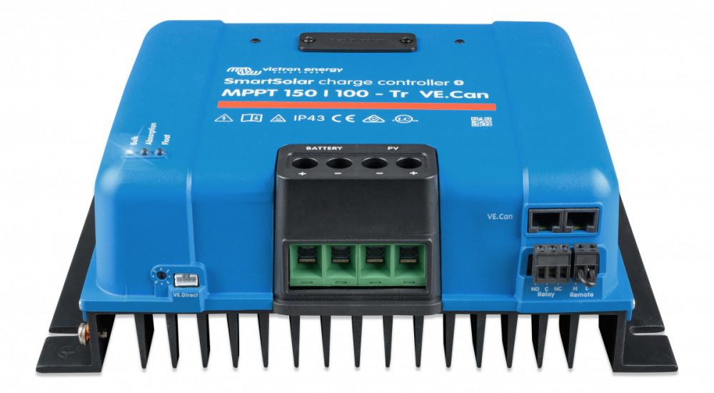 SmartSolar MPPT 150/100-Tr VE.Can  12/24/48V 85A 150V s Bluetooth