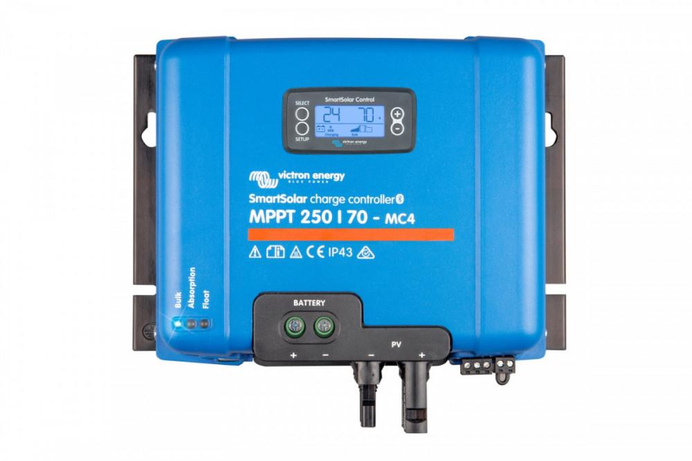 SmartSolar MPPT 250/60-MC4, displej není součástí výrobku!!