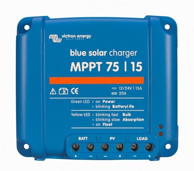 BlueSolar MPPT 75/15, solární regulátor 12/24V 15A 75V č. 1