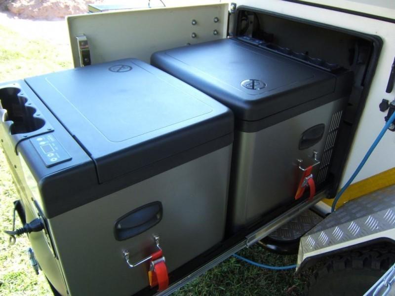 TB45A kompresorová autochladnička Indel B 12/24/230V 45 litrů č. 4