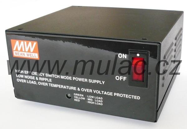 Zdroj Meanwell 13,5V/8A 108W (pro 12V baterie) ESC-120-13,5 č. 1