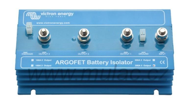 Argofet 200-3, FET oddělovač tří baterií č. 1
