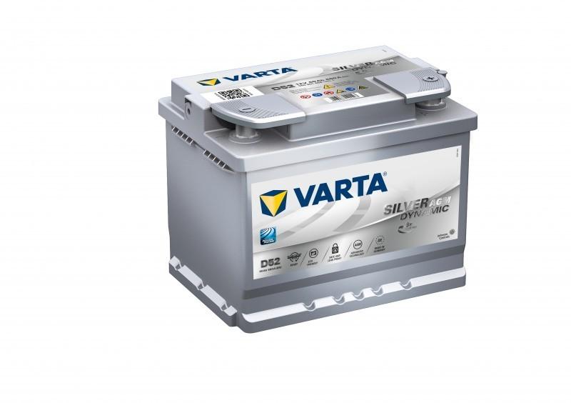Autobaterie 560901 12V 60Ah Varta AGM START-STOP č. 1