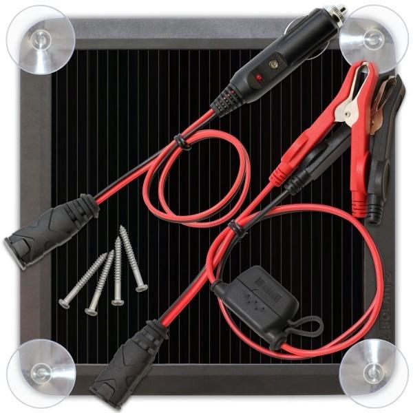BLSOLAR2 solární dobíječ 12V autobaterií 2,5W č. 1