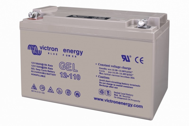 12V/110Ah GEL deep cycle BAT412101100 č. 1