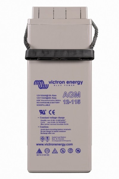 Baterie pro telekomunikace 12V 115Ah AGM Victron Energy č. 2