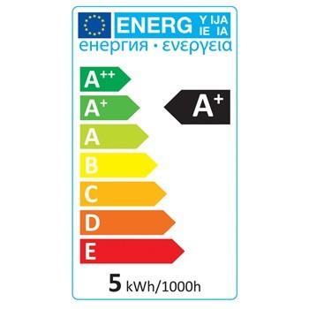 LED žárovka, malá baňka, E27, 5 W, 350 lm, 2 700 K, HQLE27MINI002 č. 3