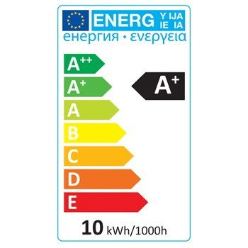 LED žárovka, A60, E27, 9,5 W, 806 lm, 2 700 K, HQLE27A60002 č. 1