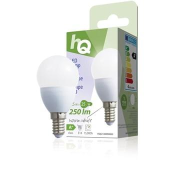 LED žárovka, malá baňka, E14, 3,5 W, 250 lm, 2 700 K, HQLE14MINI002 č. 1