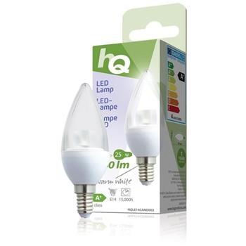 LED žárovka, svíčka, E14, 3,5 W, 250 lm, 2 700 K, HQLE14CAND002 č. 1