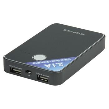 Přenosný USB Li-Ion akumulátor 5V 7000mAh Power Bank, KN-PBANK5000 č. 2